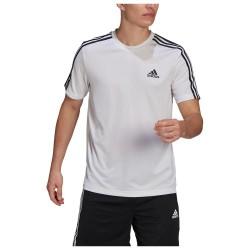 Adidas Aeroready Designed To Move Sport 3-stripes GM2156 White